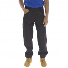 Trousers Action Black (Reg Leg)