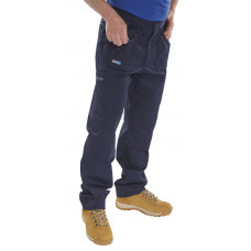 Trousers Action Navy (Reg Leg)