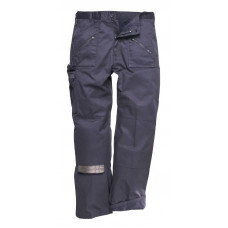Trousers Action Lined Navy (Reg Leg)