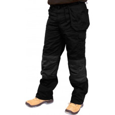 Trousers Premium Multi-pocket Black (Reg Leg)