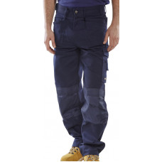 Trousers Premium Multi-pocket Navy (Reg Leg)